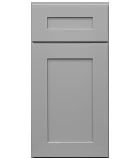 Mercury Gray Door Cabinet