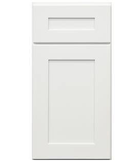 Mercury White Door Cabinet