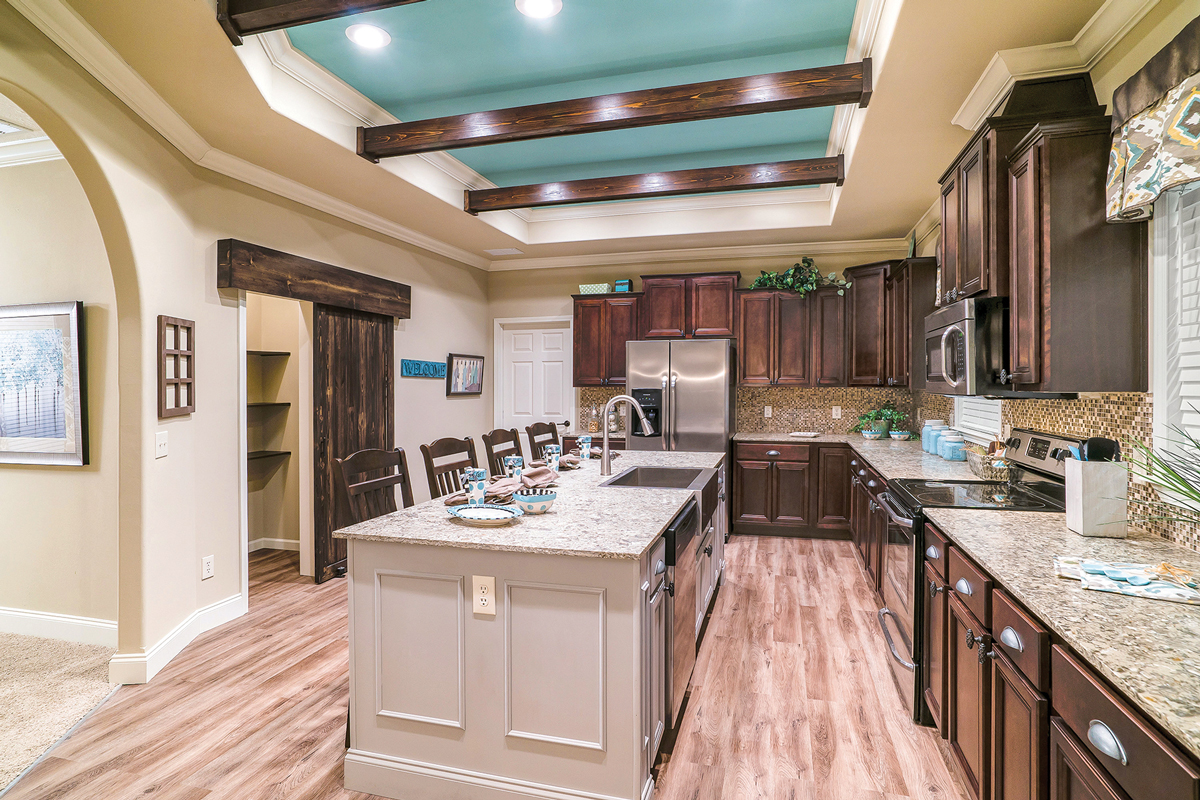 Debut Princeton Maple Walnut Kitchen at Carr Cabinets