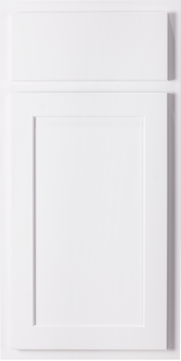 Hatteras Polar White Cabinet Door