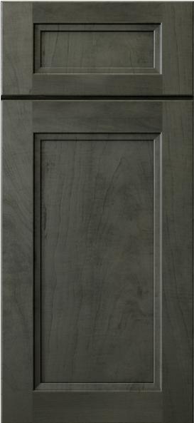 Smoky Gray Cabinet Door