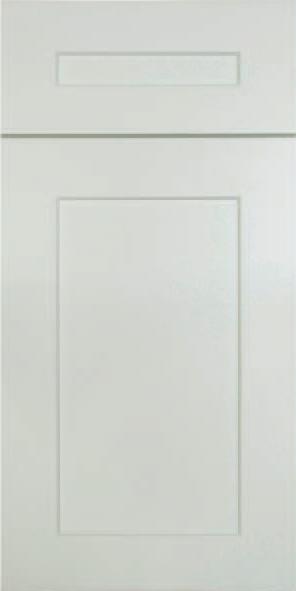 Dove White Shaker Door