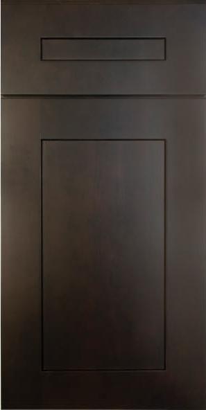 Ebony Shaker Door