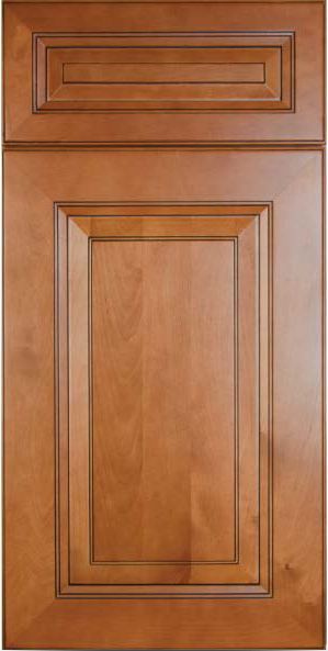 Newport Honey Wood Cabinet Door