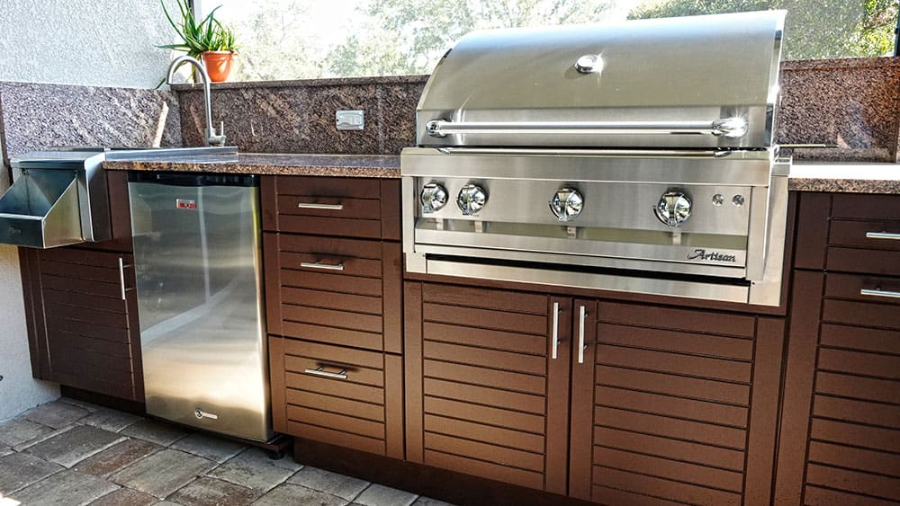 Outdoor Cabinets at Carr Cabinets
