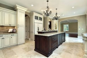 Painted Custom Cabinets at Carr Cabinets