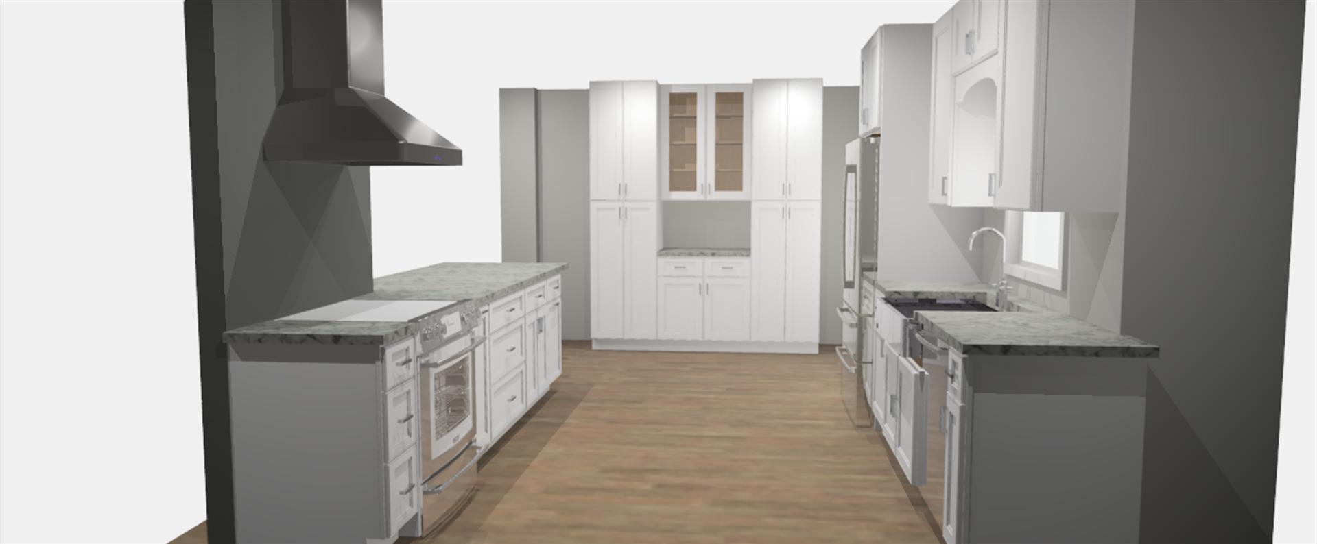 Andrea & Keith Renovation Kitchen