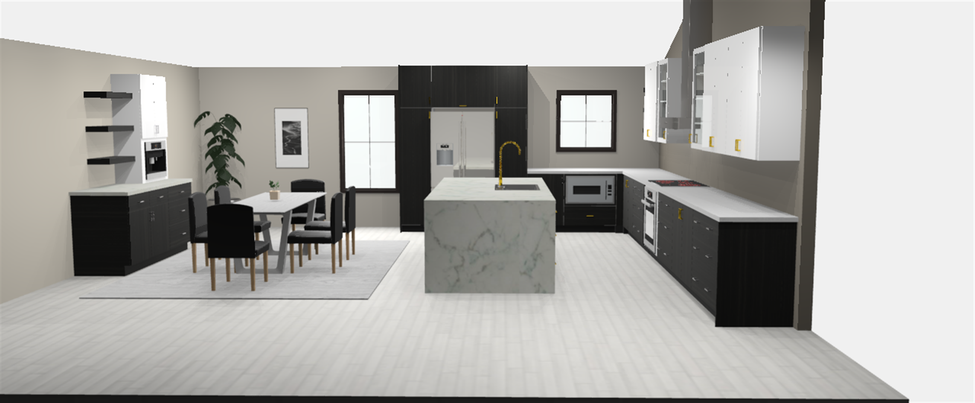 Lisa Ultra Modern Custom Kitchen