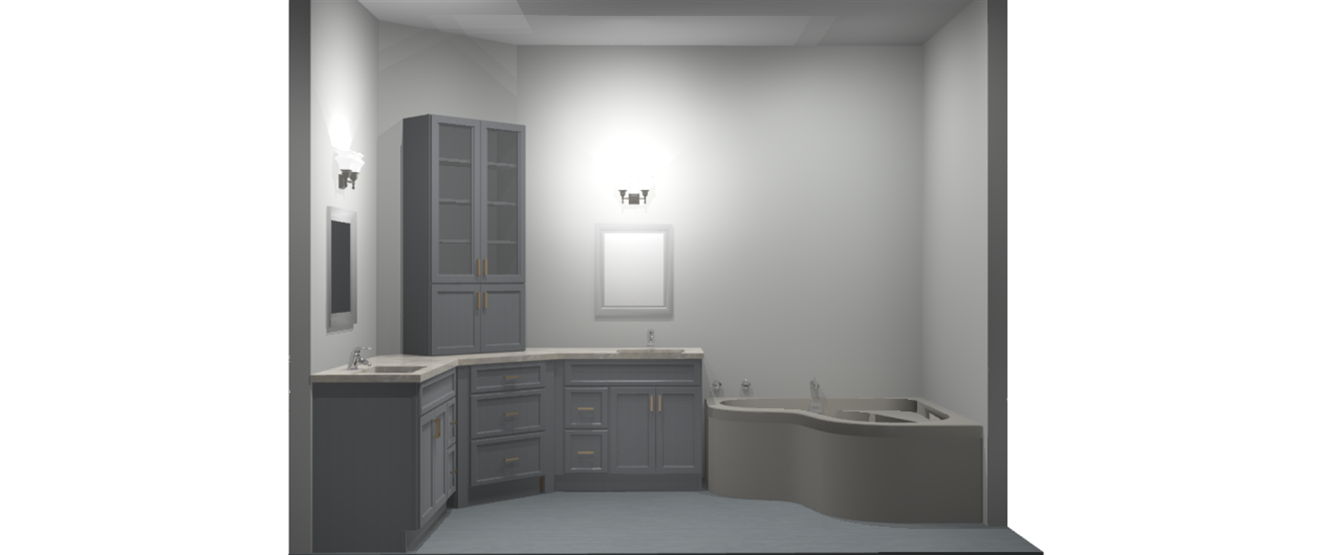 Robyn & Craig Mercury Bathroom