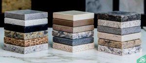 Variety of Stone Countertops